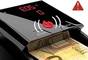 Detectalia D7 Detector de billetes falsos listo para los nuevos billetes de 100 y 200 euros. Con 100% de detección en pruebas oficiales del Banco ...