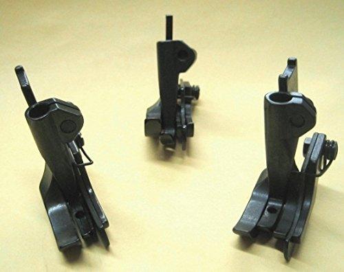 CUTEX SEWING - 3 Size Right Edge Guide TopStitch Walking Foot Set 111W / LU-563 / 206RB (Juki Lu 563 Walking Foot Industrial Sewing Machine)