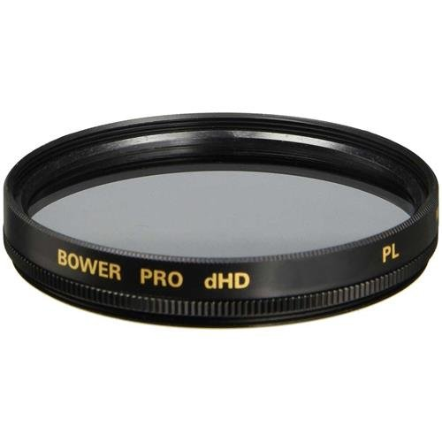 Bower FP82 82 mm Pro Digital High Definition Linear Polarizer Filter (Black)