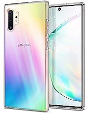 Spigen Liquid Crystal Kompatibel mit Samsung Galaxy Note 10 Plus Hülle, Transparent Silikon Handyhülle Note 10+ Case Crystal Clear 627CS27327