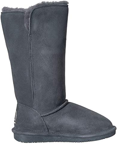 Lauren Tall Charcoal Boot Winter BEARPAW Women's Rzq5AnwzxH