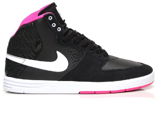 Nike - Paul Rodriguez 7 HI - 616355016 - Color: Blanco-Negro-Rosa - Size: 45.5