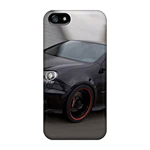 Iphone 5/5s Case Cover - Slim Fit Tpu Protector Shock Absorbent Case (gti)