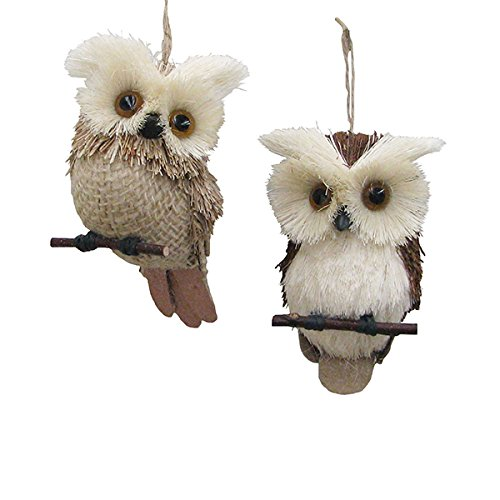 Kurt Adler Owl Ornaments For Christmas Tree Comfy Christmas