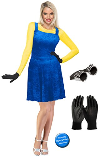 Sanctuarie Designs Minion Plus Size Supersize Halloween Costume Basic Kit -
