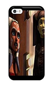 High Quality Shock Absorbing Case For Iphone 5c-star Wars Clone Wars