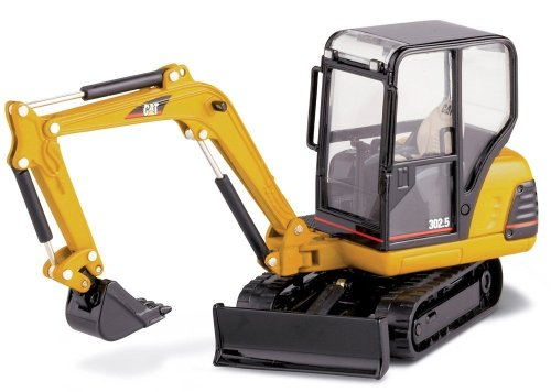 Norscot Cat 302.5 Mini Hydraulic Excavator with work tools 1:32 scale ()