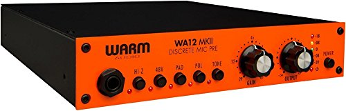 Warm Audio WA12 MKII Microphone/Instrument Preamp
