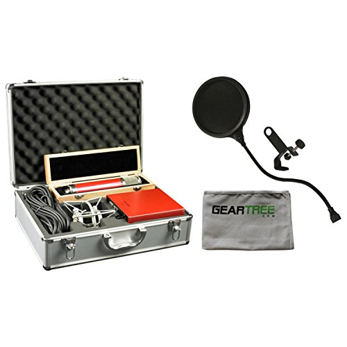Avantone CV12 32mm large diaphragm multi-pattern tube mic w/ Cloth and Pop Filter