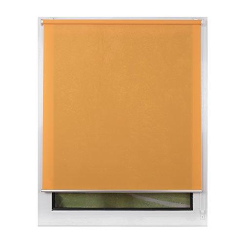 Filtering Orange Blinds Light (SCHRLING No Drill Daylight Roller Shades Light Filtering Blind 36