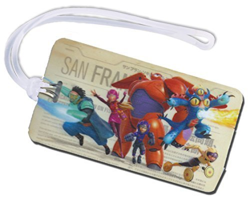 Big Hero Backpack Luggage Baymax