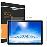 New Surface Pro 2017 Screen Protector [Tempered Glass] Megoo Bubble Free Ultra Clear Anti-Scratch Friendly Touching also compatible for Microsoft Surface Pro 4