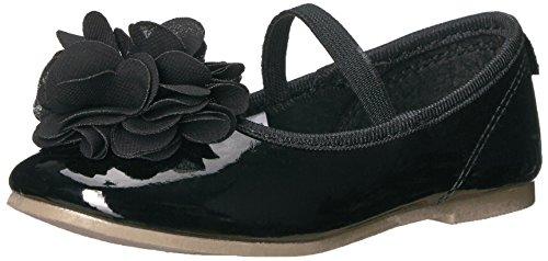 - Carter's Girls' Penelope2 Ballet Flat, Black, 7 M US Toddler