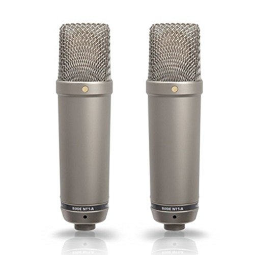 Price comparison product image Rode NT1-A-MP Stereo Matched-Pair Microphones