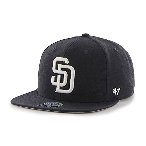 Amazon.com    47 Forty Seven Brand San Diego Padres Navy Sure Shot ... cfe39d3f018