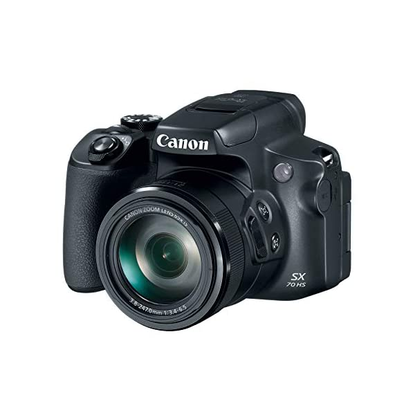 RetinaPix Canon Powershot SX70 20.3MP Digital Camera 65x Optical Zoom Lens with SanDisk 128GB Extreme Pro SDXC SD Card