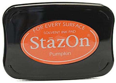 Stazon Pumpkin - Tsukineko StazOn Solvent Ink (Pumpkin) 1 pcs sku# 1844105MA