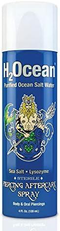 H2Ocean Piercing Aftercare Spray 4 Fluid Ounce