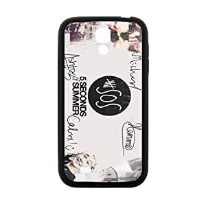 5 Seconds Of Summer Fashion Comstom Plastic case cover For Samsung Galaxy S4