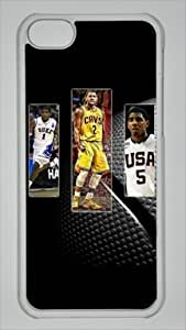 TYH - Kyrie Irving NBA Sports Custom PC Transparent Case for iPhone 5C ending phone case