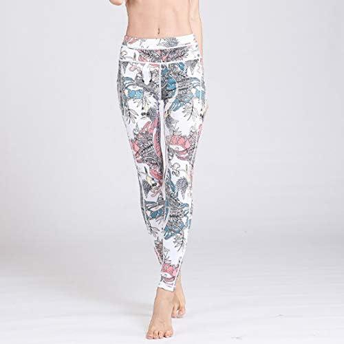 ヨガウェア ヨガパンツヨーロッパとアメリカの平野運動は薄いズボン高弾性ランニングフィットネス服女性のレギンスハイウエスト速乾性ランニングパンツおなかコントロールパワーストレッチヨガレギンス