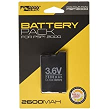 KMD Rechargeable Battery Pack-Black, PSP 2000