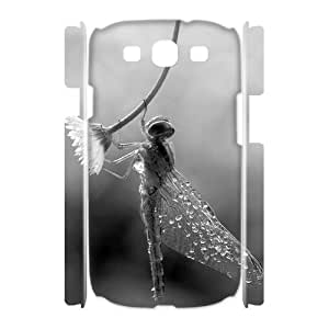 Beautiful Dragonfly Brand New 3D Cover Case for Samsung Galaxy S3 I9300,diy case cover ygtg-310264