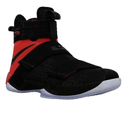 quality design 52e1d 2900e Nike Mens Lebron Soldier 10 SFG Basketball Shoe 10 D(M) US,BlackBlack-university  Red,10 D(M) US