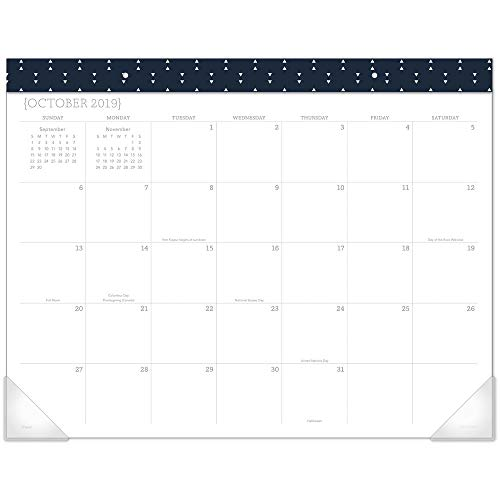 - Mead 2020 Desk Calendar, Desk Pad, 22