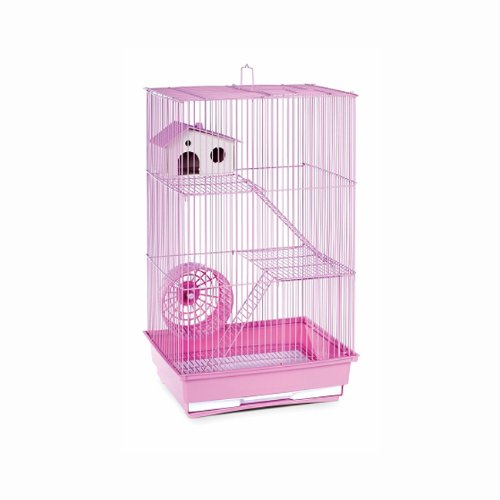 Domestic Pet Small Pet Products Lilac Three Story Hamster & Gerbil Cage Advanced (Prevue Hendryx Small Animal Playpen)
