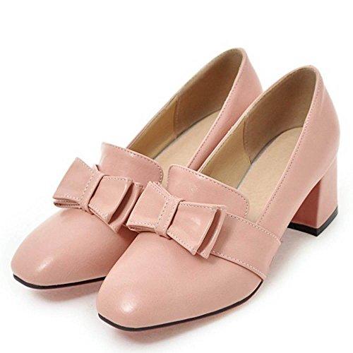 Moda Moyen Escarpins Melady Pink Bloc Femmes Talons qw5S018U