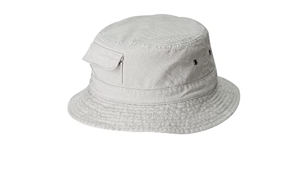 DORFMAN PACIFIC GLOBAL PIGMENT DYED CARGO BOONIE BUCKET HAT (L XL ... dab815d94477