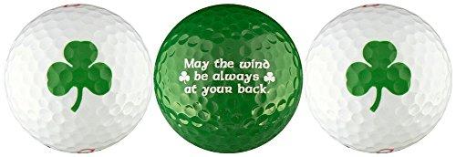 - EnjoyLife Inc Shamrock w/Irish Blessing Golf Ball Gift Set