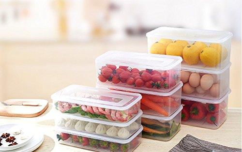 Kühlschrank Organizer Stapelbar : 3 frischhalteboxen stapelbar kühlschrank kühlschrank gefrierschrank