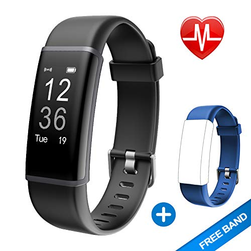 Lintelek Fitness Tracker, Customized Activity Tracker with 14 Sports...