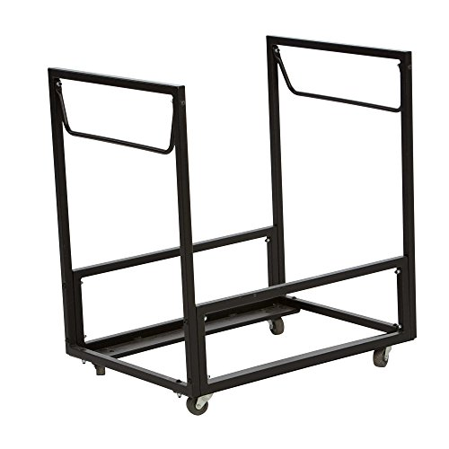 Lifetime Products 80279 Rolling Residential Chair Cart, Gray