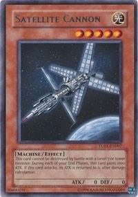 Yu-Gi-Oh! - Satellite Cannon (TU01-EN007) - Turbo Pack 1 - Promo Edition - Rare (Turbo Oh Pack Gi Yu)