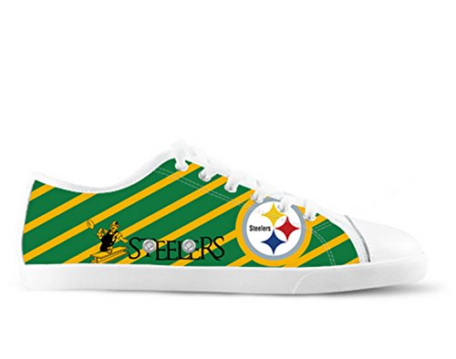 Steelers Logo Ladys Antislip Canvas Schoenen Steelers Canvas Shoes01