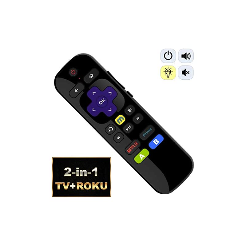 IKU-P81 2-in-1 Universal IR Remote Compa