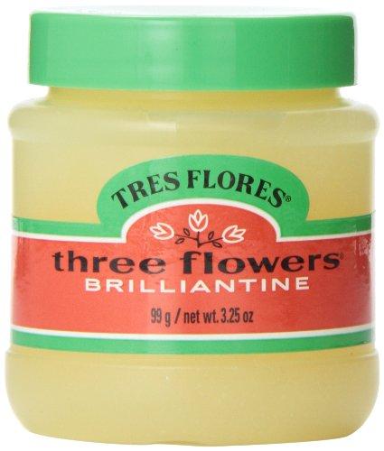 Three Flowers Brilliantine Pomade Solid 3.25oz