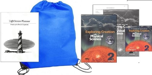 Exploring Creation with Physical Science (Grade 8) w/Companion CD Rom Homeschool Kit in a Bag