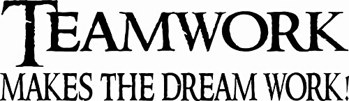 teamwork-makes-the-dreamwork-8-x-22-beautiful-vinyl-wall-decal-by-scripture-wall-art-includes-our-ex