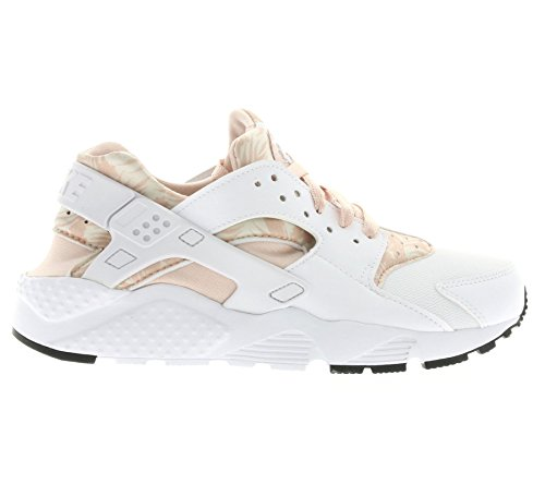 new concept f2cd5 a047a Nike - Huarache Run Print GS - 704946100 - Couleur  Blanc-Orange - Pointure  ...