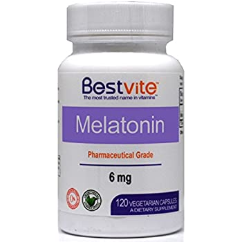 Amazon.com: Melatonin Sustained Release 6 mg | Time Release + Extra ...