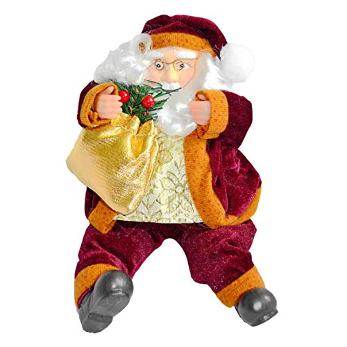 Price comparison product image Tivolii 35CM Santa Claus Doll Christmas Home Hotel Store Decoration Festival Doll Festival Gift Market Window Decoration