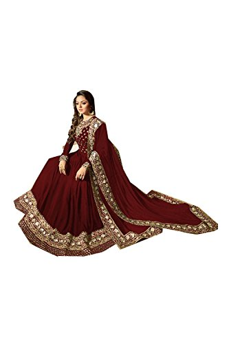 Kameez Kameez 2 Salwar Traditonal Facioun Partywear Ethnic Maroon 2 Facioun Da Indiane Progettista Donne Da Traditonal Salwar Partywear Indian Women Designer Maroon Etnica cA8nqUR
