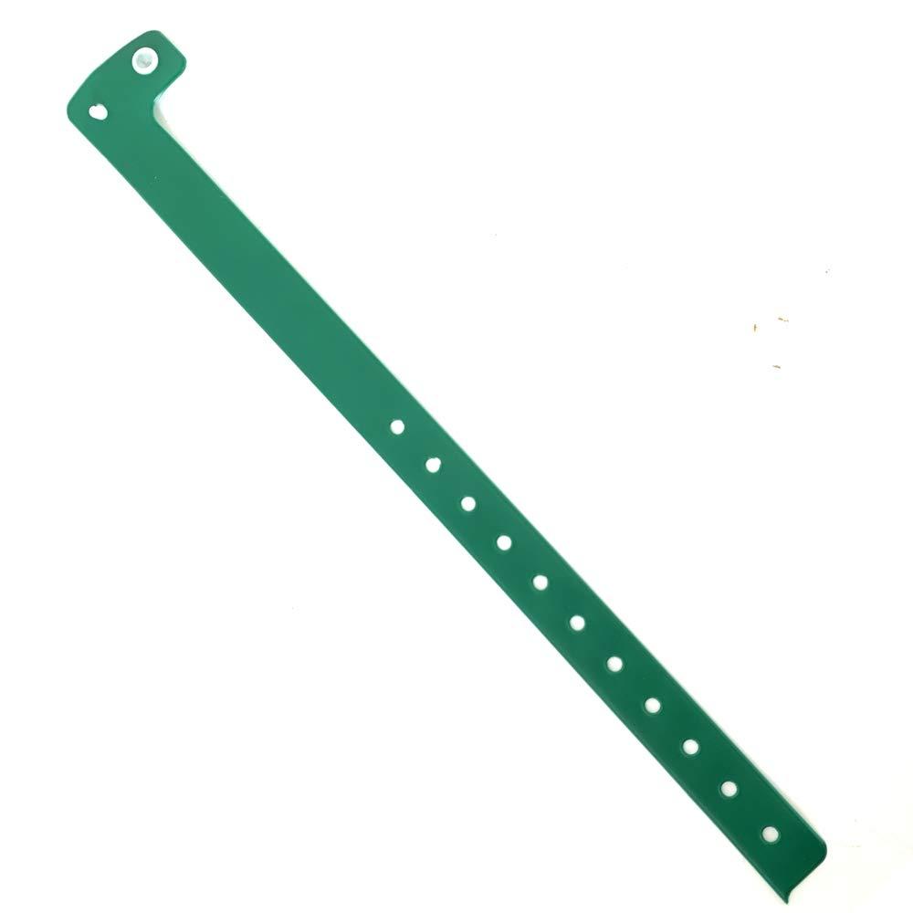 Personnalisable et /étanche bleu, 50 Lot de 50 bracelets plastique//vinyle pour /év/énements