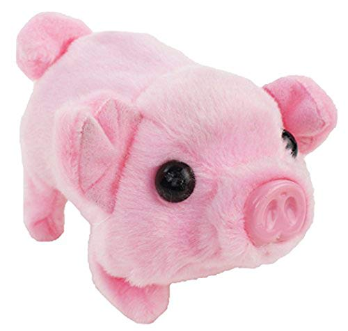 Walking Pet Pig | Wiggling, Snorting, Oinking | Battery Operated | Electronic Piggy.