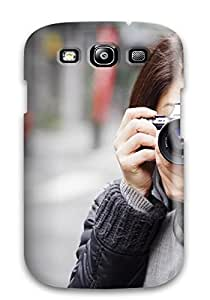 Tpu Shockproof/dirt-proof Mood Cover Case For Galaxy(s3)