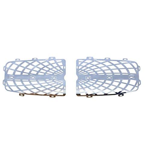 (Ferreus Industries Polished Stainless Spider Web Grille Grill Insert Trim fits: 2004-2006 Dodge Durango TRK-148-07)